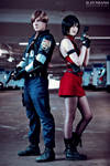 Resident Evil 2 - Leon and Ada Cosplay