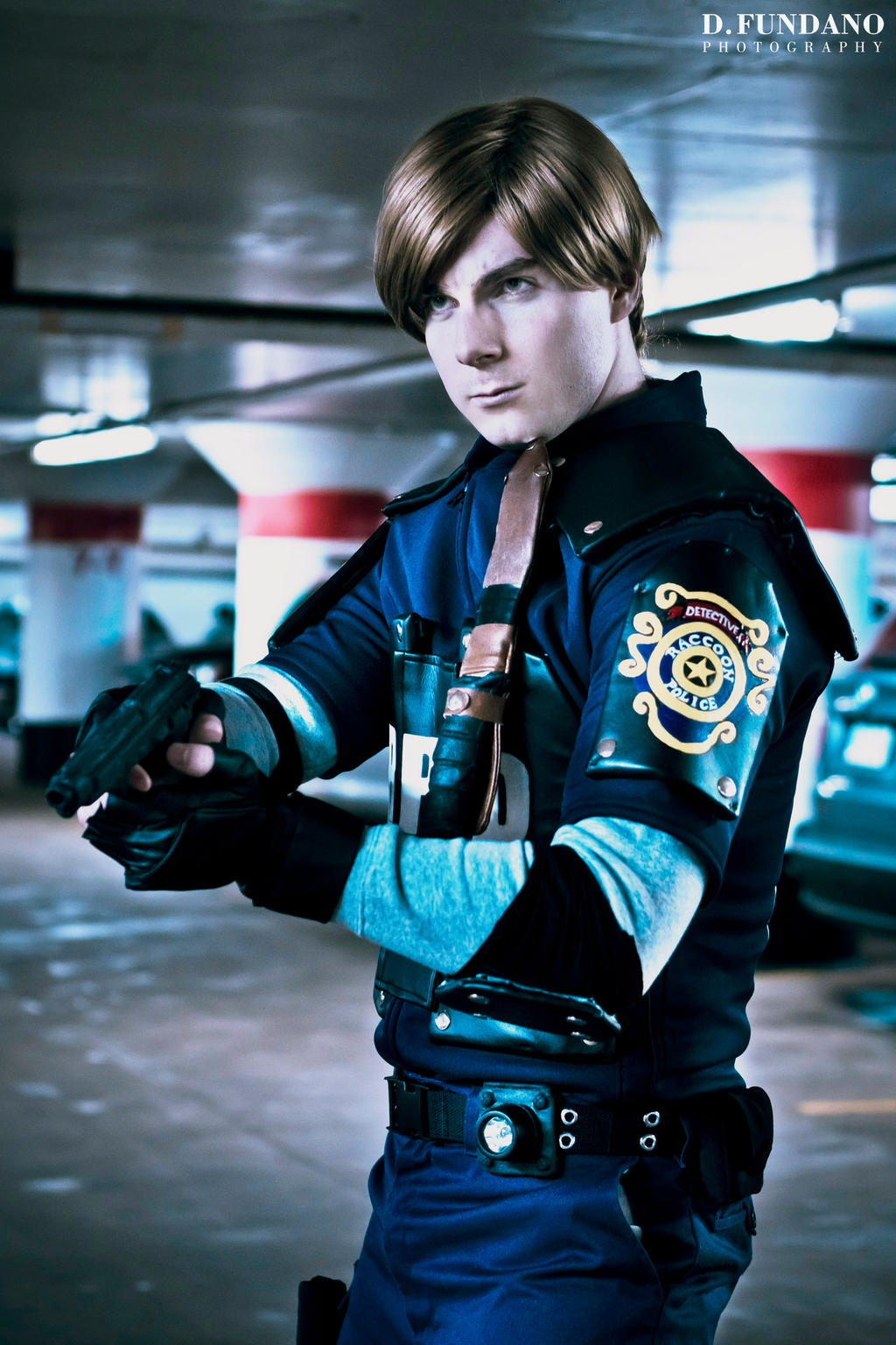 Resident Evil 2 Leon Kennedy Cosplay By Galactic Reptile On