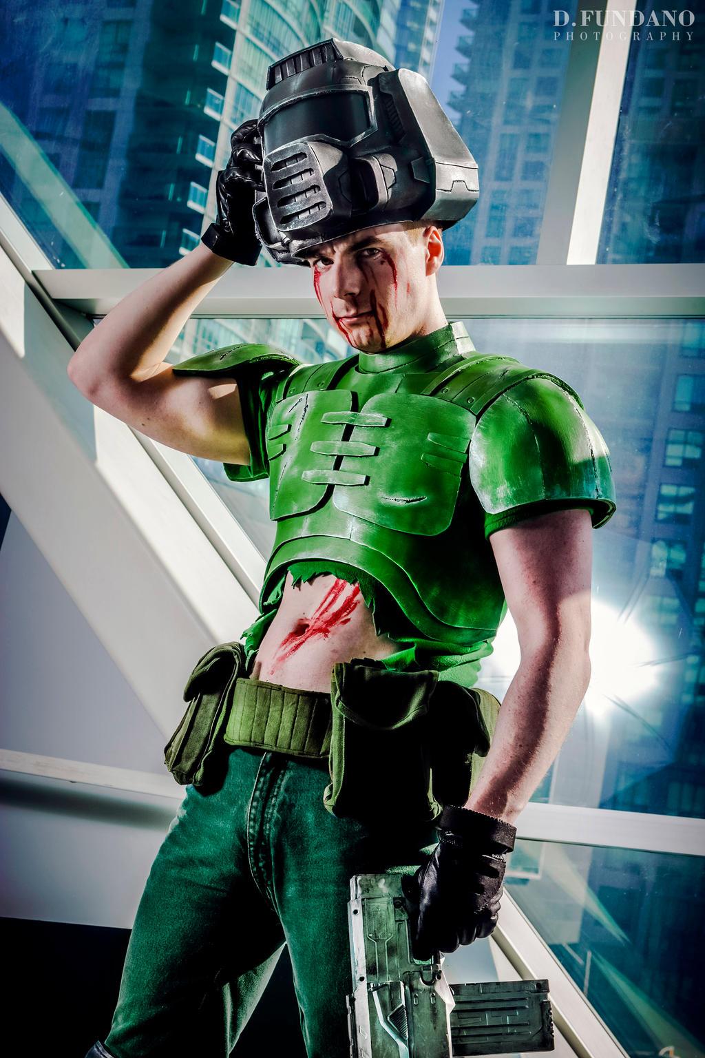 Doom Doom Guy Cosplay By Galactic Reptile On Deviantart