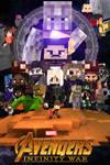 Avengers Infinity War Poster Minecraft