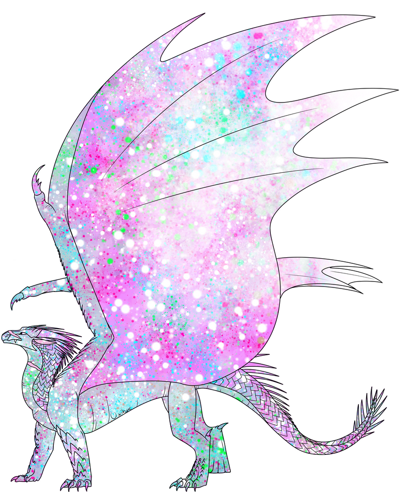 Icewing Rainwing Adopt by TwistedTalons