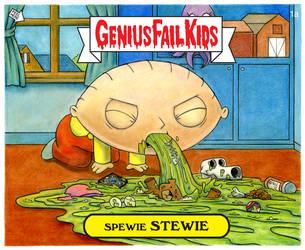 Spewie Stewie by Lonejax