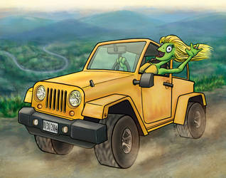 The Ferraro Turtle by Lonejax