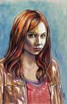 Amy Pond by Lonejax
