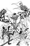 Hulk by wrathofkhan inks