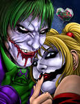 Joker and Harley colored