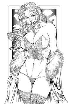 Emma Frost inked