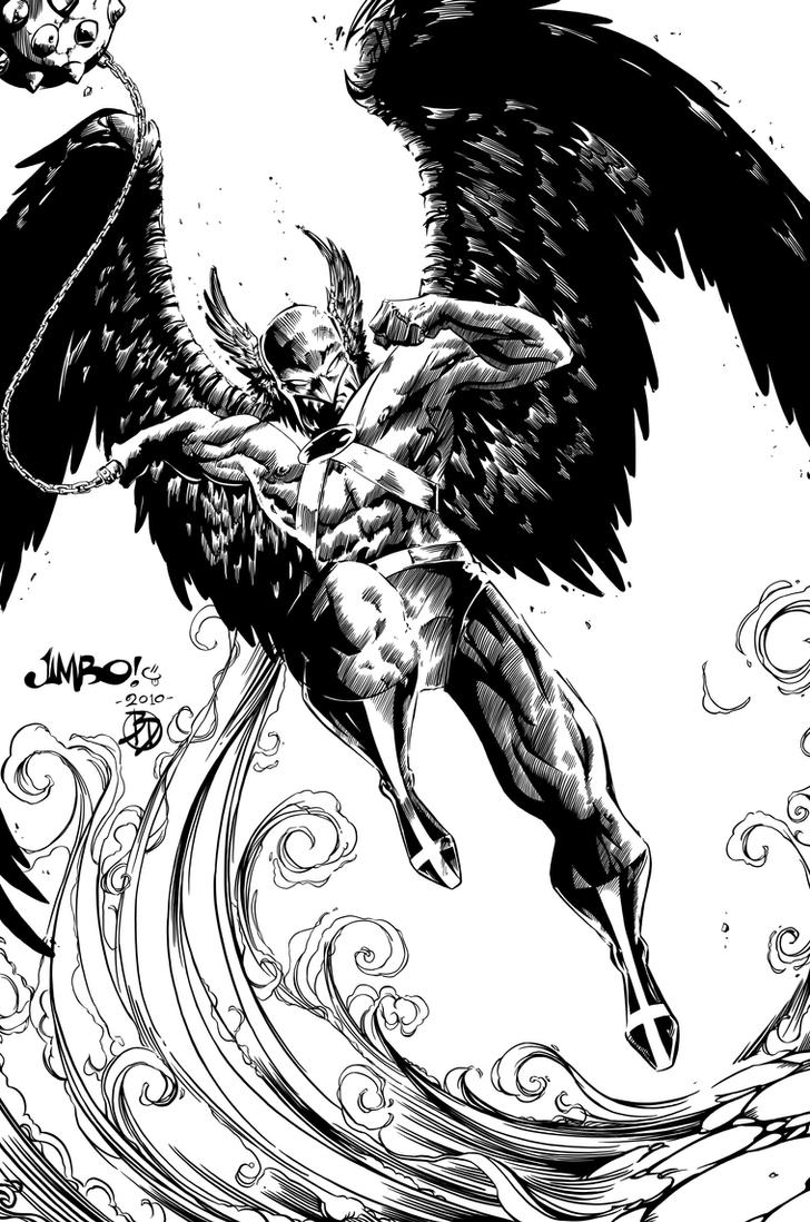 hawkman coloring pages - photo#32