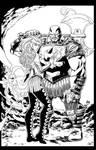 Enchantress 'n Executioner Ink by BDStevens