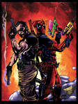 Punisher and Deadpool colors