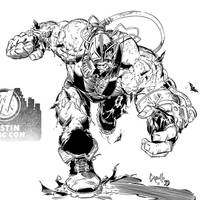 Bane by Capullo Inks by BDStevens