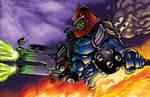 Trapjaw Colors - Battle Artist