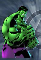 Hulk Avengers Print by BDStevens