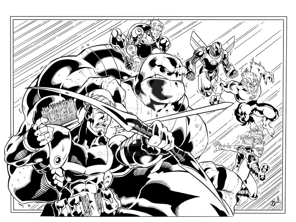 Youngblood Inks by BDStevens