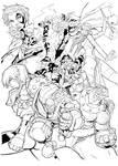 X-Men Age of Apocalypse inks