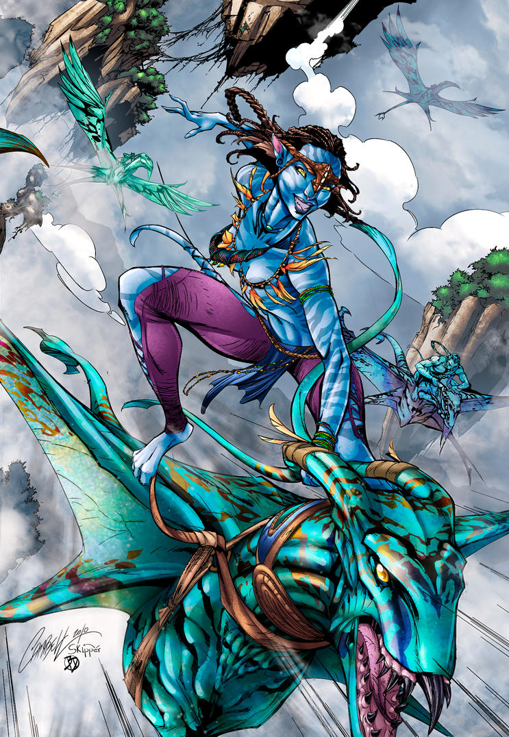 Avatar - BA Color Battle by BDStevens