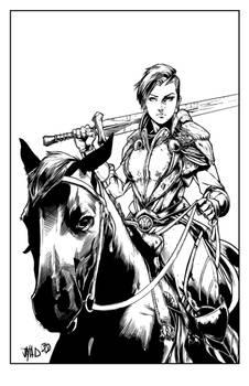 Lady Knight Inks