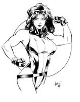 She Hulk Inks by BDStevens
