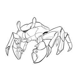 crab walker ink by BDStevens