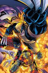 X-Men Three Amigos by BDStevens
