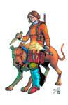 Vampire Hunter Velma and Scooby Doom Colors