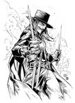 V for Vendetta inks