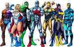 Justice League colors