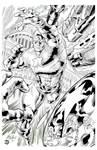 Captain America - Defender of Freedom Inks