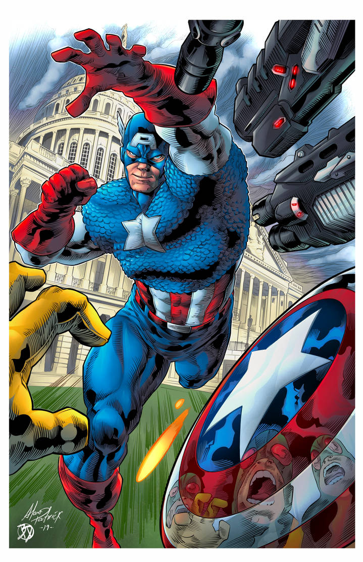 Captain America - Defender of Freedom Colors