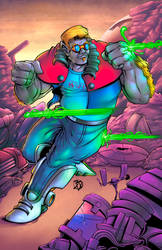 Space Hogs: Mnemoth is blaster proof colors
