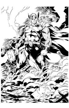 The Mighty Thor! Inks