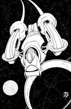 The Space Hog inks