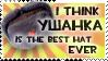 Ushanka stamp by PostNuclearNeko