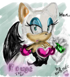 Rouge with emerald by NalaMate