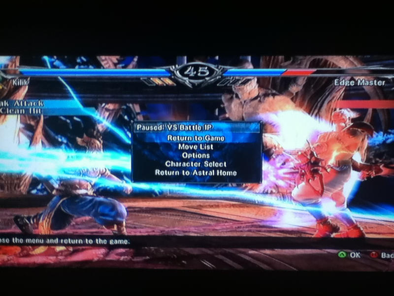 Soul Calibur V, Kilik Vs Edge Master by LightTheDragon19