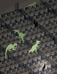 Jerk Dinosaurs by eatcakedrinkblood