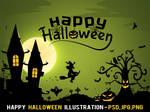 Free Happy Halloween Illustration
