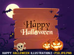 Free Happy Halloween Illustration 2