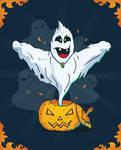 Free Halloween Vector Ghost
