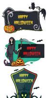 Happy Halloween Signs - Free