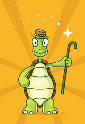 Free vector turtle by pixaroma