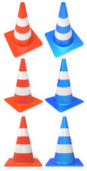 Free 3d traffic cone by pixaroma