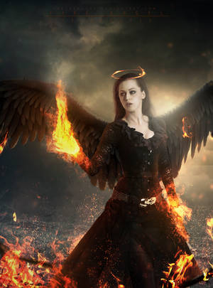 Fire Angel by Helderjose