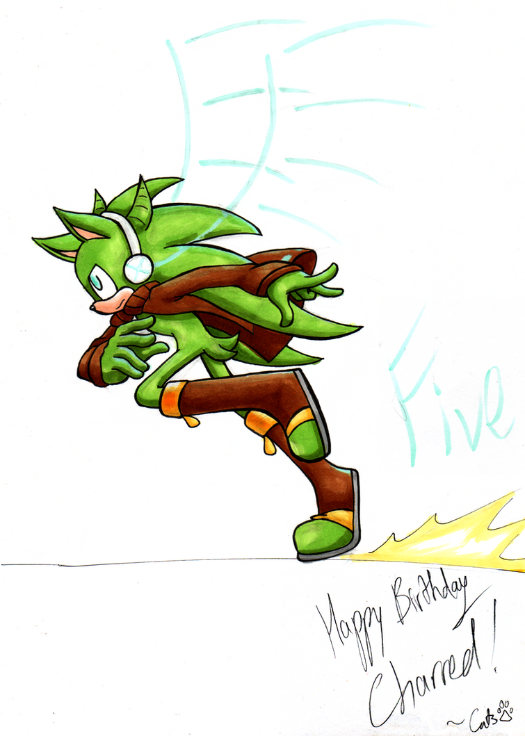 .: Happy Belated Birthday Charred!! (2014) :. by iluvcats111