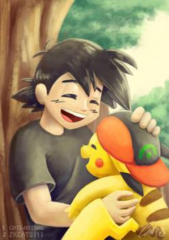 .: Pokemon : Thanks buddy :.