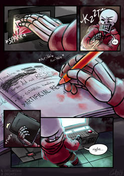 .: SwapOut : UT Comic [1-25] :. by ZKCats