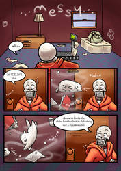 .: SwapOut : UT Comic [2-6] :. by ZKCats