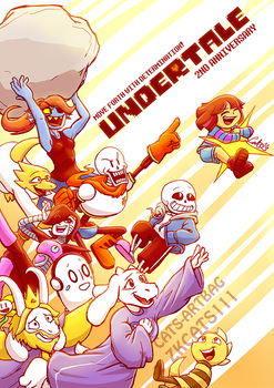 .: 2ND ANNIVERSARY : UNDERTALE :.