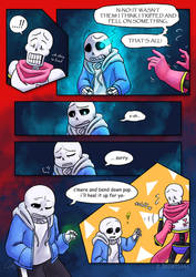 .: SwapOut : UT Comic [3-9] :. by ZKCats