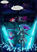 .: SwapOut : UT Comic [4-5] :. by ZKCats